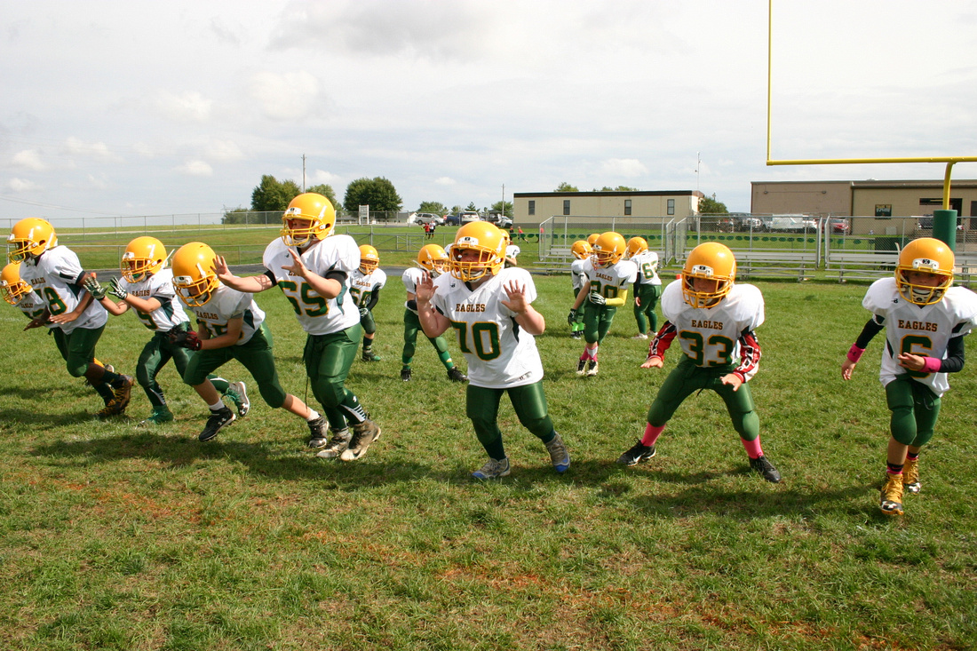 Golden Eagle Youth Football vs Fairbanks, 10/01/2016