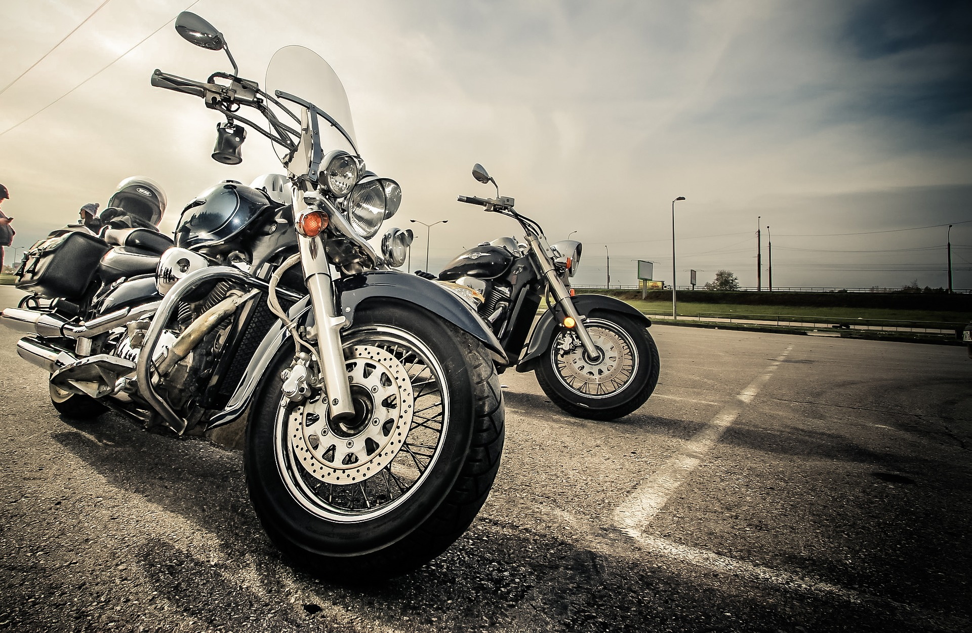 Motorcycles and Spring in the air